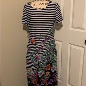 Trulli Floral Dress Size L